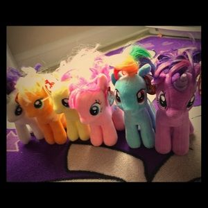My Little Pony TYs collectable bundle